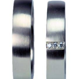Gyémánt gyűrű, fehérarany karikagyűrű, karikagyűrű, titán karikagyűrű, egyedi karikagyűrű, design karikagyűrű, különleges karikagyűrű, design jegygyűrű, különleges jegygyűrű